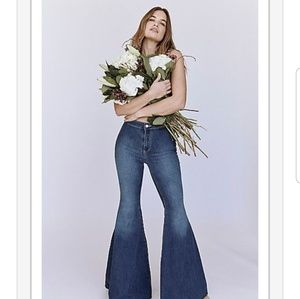 NWT Free people just float on flares Jericho Blue